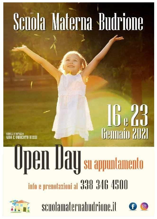 Open Day Online 23 Gennaio 2021